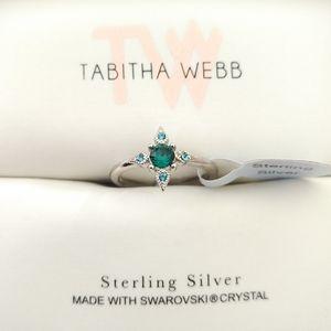 Tabitha Webb🕸️ Sterling Silver Ring - Sz 6
